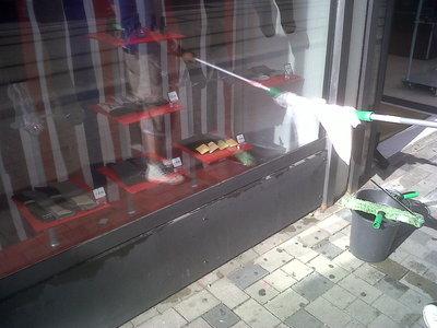 Umývanie okien Bratislava, trik suchého leštenia