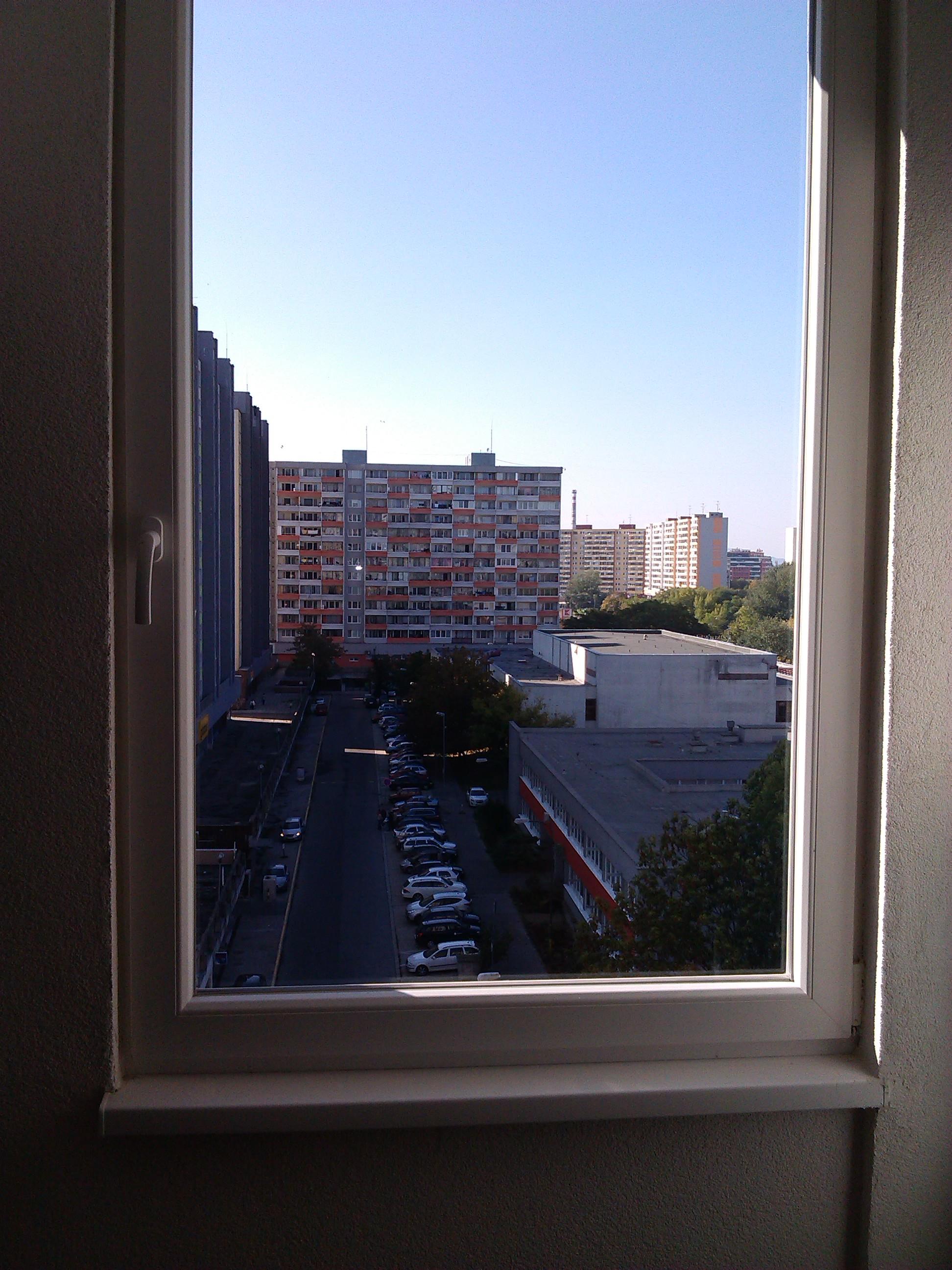 Dokonale čisté a vyleštené okná